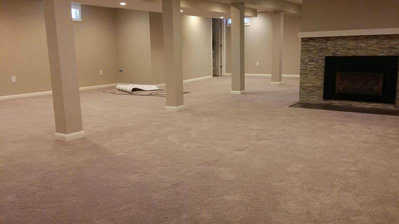 After-carpet install