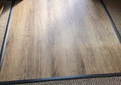 hardwood floor entry install